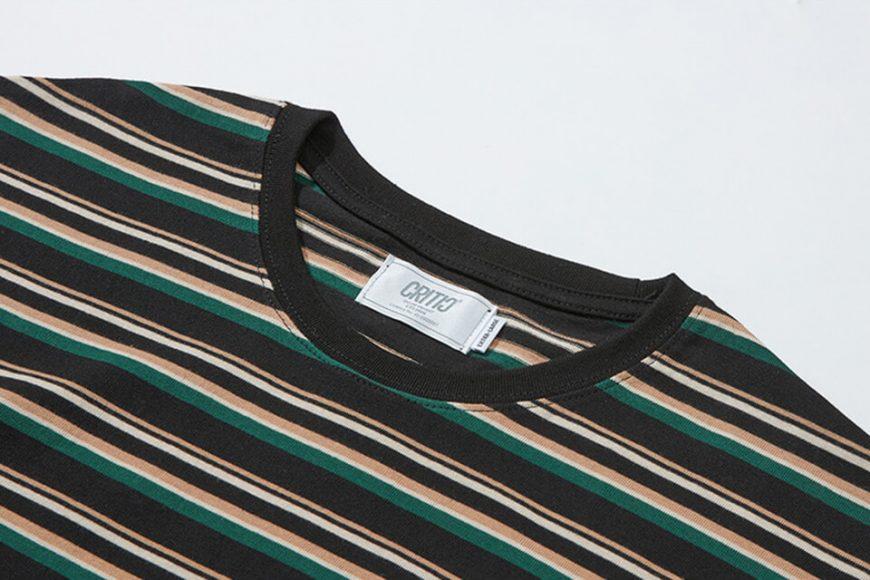 CRITIC 21 SS Stripe T-Shirt (13)