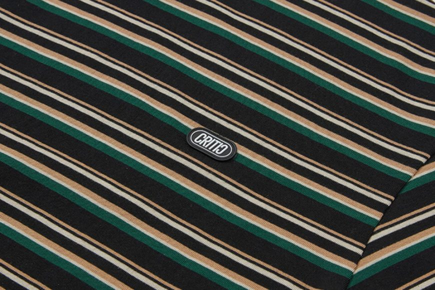 CRITIC 21 SS Stripe T-Shirt (14)