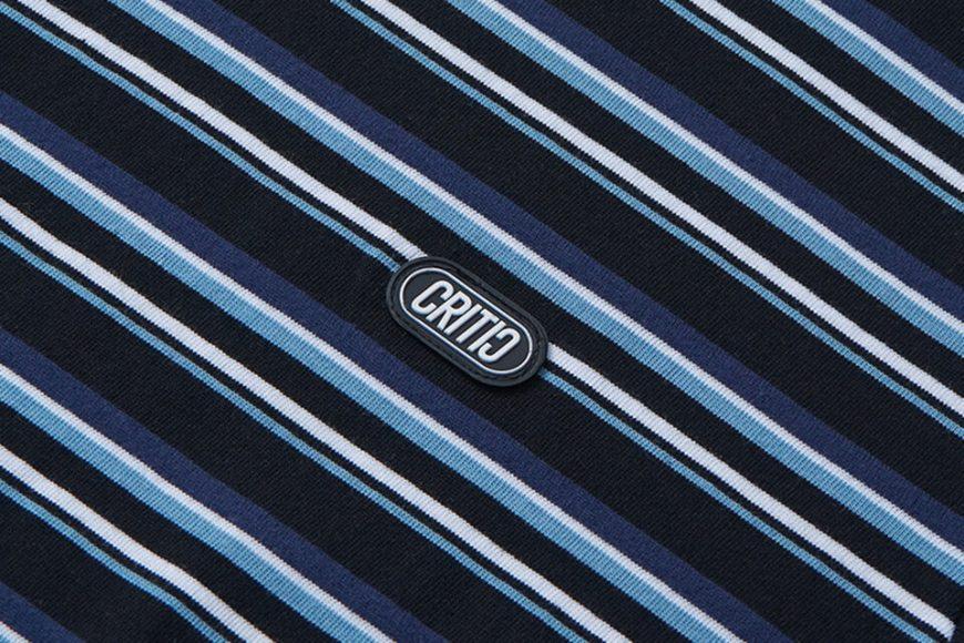 CRITIC 21 SS Stripe T-Shirt (4)