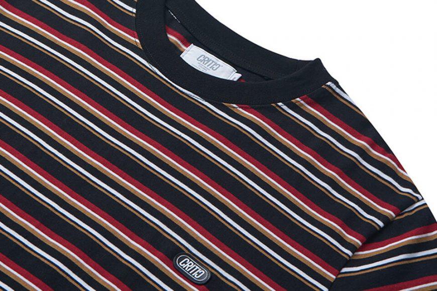 CRITIC 21 SS Stripe T-Shirt (8)