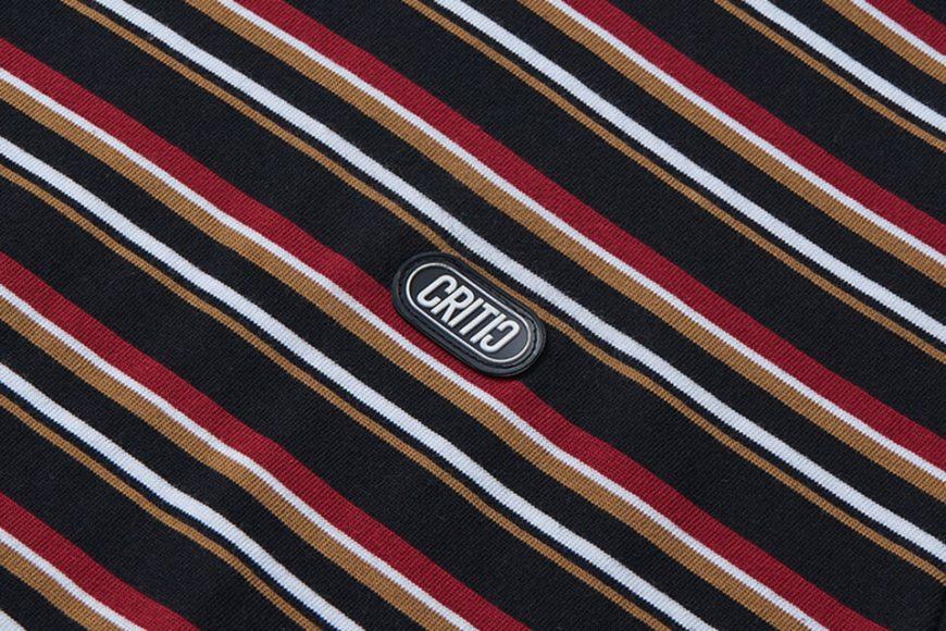 CRITIC 21 SS Stripe T-Shirt (9)