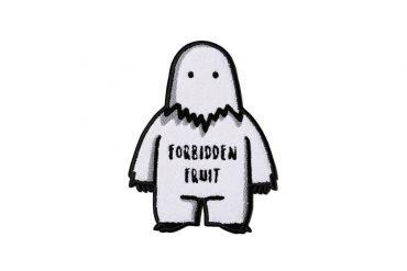 FORBIDDEN FRUIT Season 2 Snow Monster Felt Coaster (1)