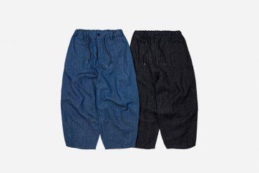 FrizmWORKS 21 SS Denim Balloon Pants (5)
