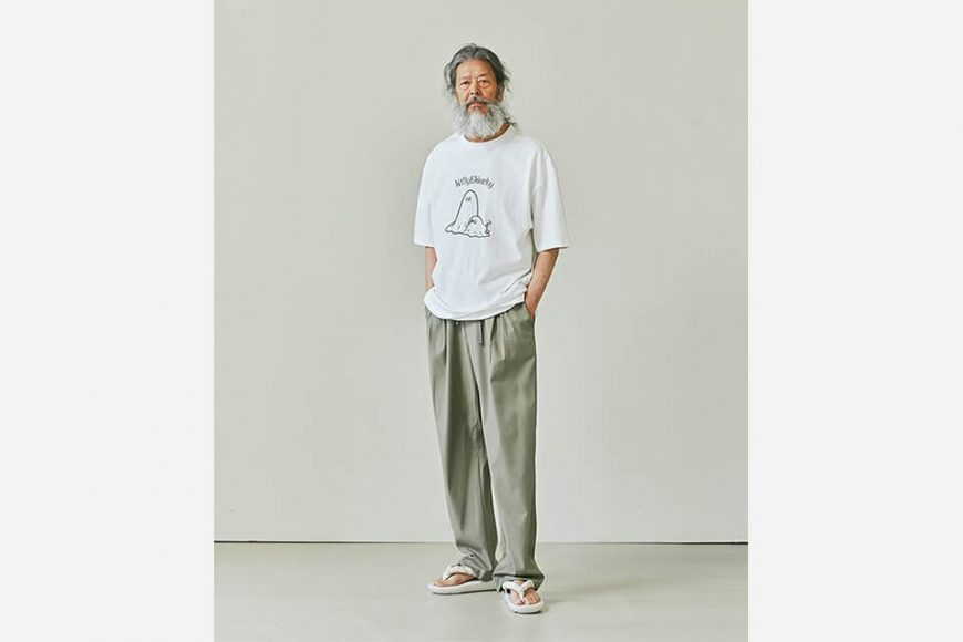 FrizmWORKS 21 SS Two Tuck Relax Pants (4)