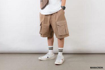 MANIA 21 SS Patchwork Pocket Pants (9)
