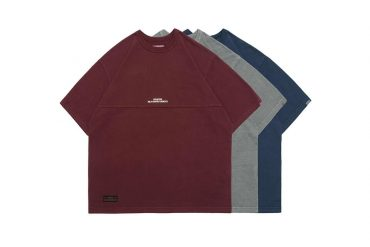 PERSEVERE 21 SS Pigment-Dyed Panel T-Shirt (13)