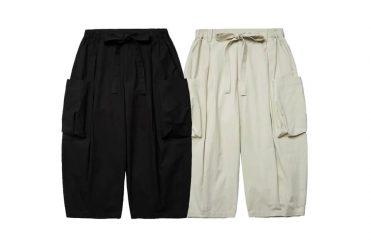 Simple Design Strap Washed Cargo Pants V2 (0)