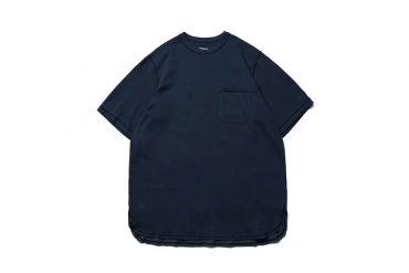 Simple Design Two-Tone Long Pocket Tee (5)