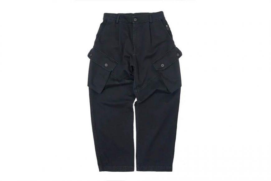 CentralPark.4PM 21 SS Military Cargo Pants (3)