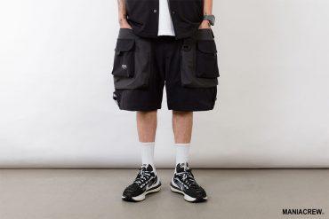 MANIA 21 SS 2 Tone Pocket Pants (2)