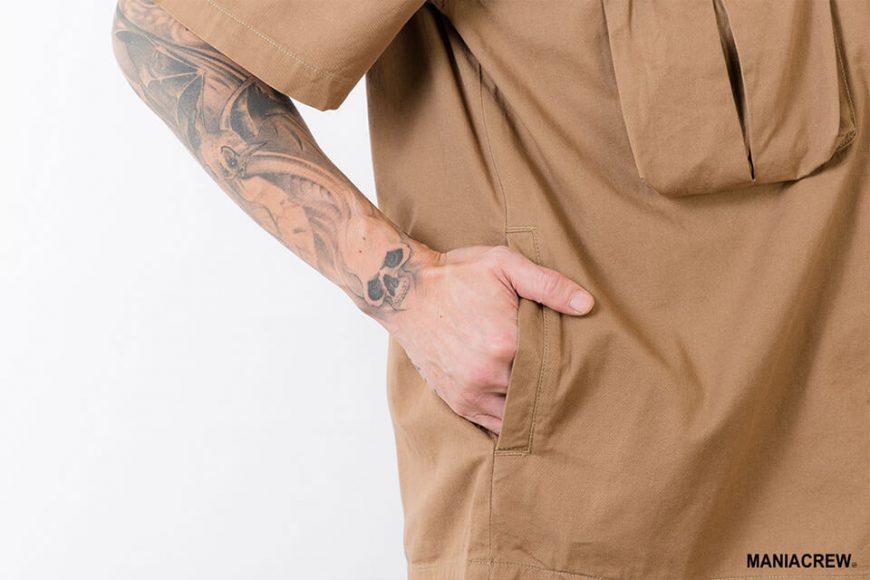 MANIA 21 SS Patchwork Pocket Shirt (10)