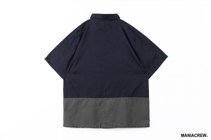 MANIA 21 SS Patchwork Pocket Shirt (12)