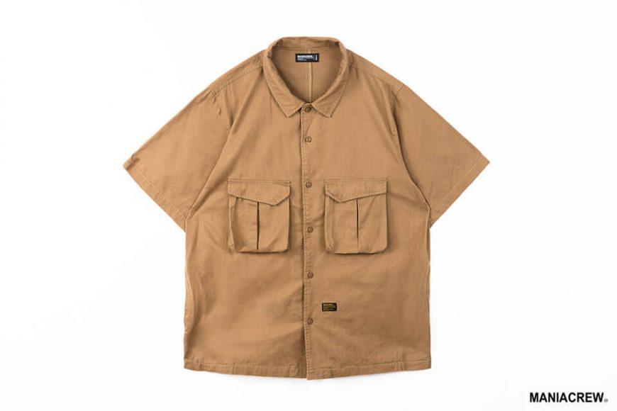 MANIA 21 SS Patchwork Pocket Shirt (13)