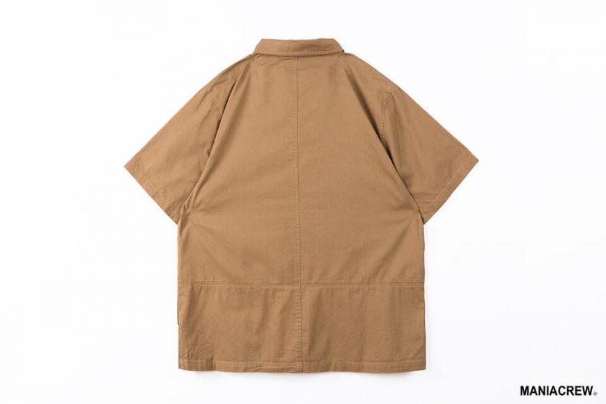 MANIA 21 SS Patchwork Pocket Shirt (14)