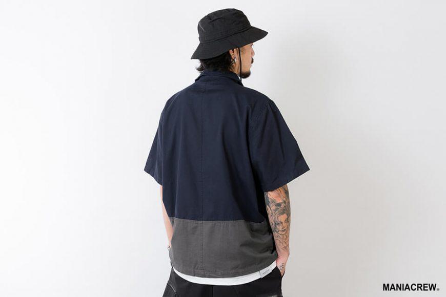 MANIA 21 SS Patchwork Pocket Shirt (3)
