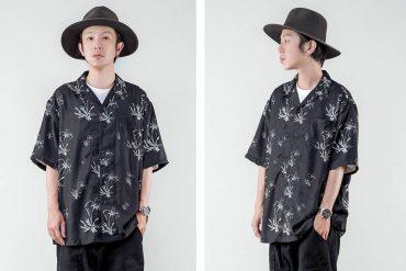NextMobRiot 21 SS Crinum Asiaticum OVS Guayabera Shirt (0)