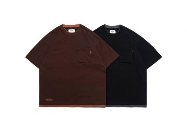 PERSEVERE 21 SS Double Ribbed Crewneck T-Shirt (7)