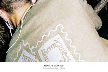 REMIX 21 SS Stamp Tee II (1)
