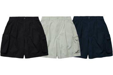 MELSIGN 21 SS Strap Washed Cargo Shorts (0)
