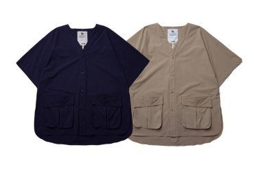 SMG 21 SS Collarless Pocket Shirt (0)