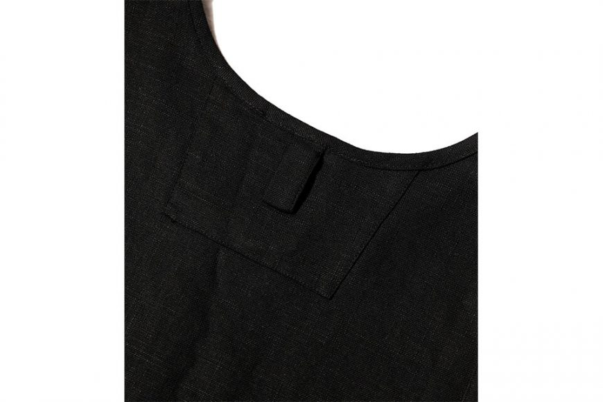 AES 21 SS Linen And Cotton Oversized Vest (4)