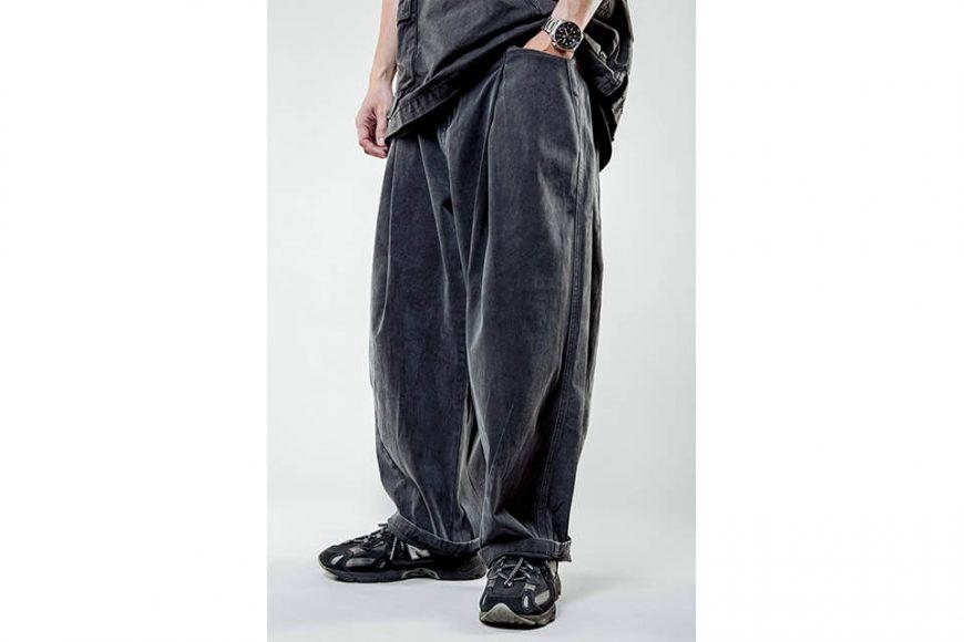 NextMobRiot 21 SS Washed Wide Pants DX (3)