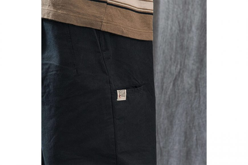 PERSEVERE 21 AW Elasticated Waist Pleated Tapered Pants (10)