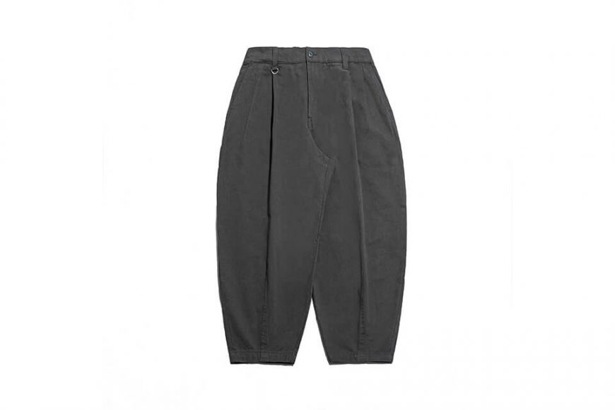 PERSEVERE 21 AW Elasticated Waist Pleated Tapered Pants (12)