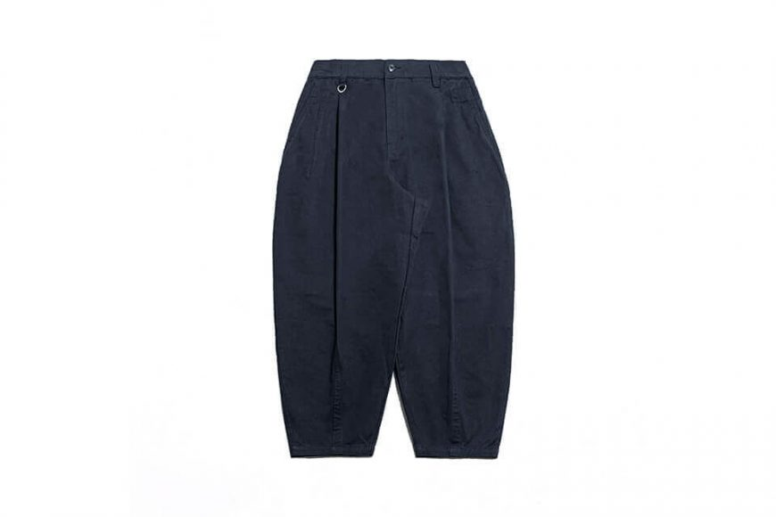PERSEVERE 21 AW Elasticated Waist Pleated Tapered Pants (20)