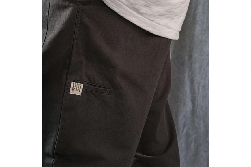 PERSEVERE 21 AW Elasticated Waist Pleated Tapered Pants (5)