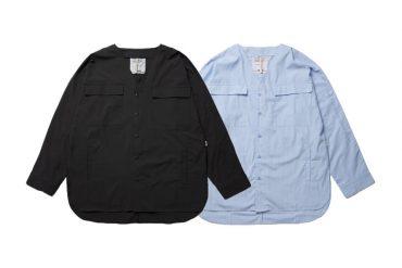 SMG 21 SS Collarless LS Shirt (0)