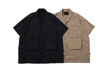 AES 21 SS Nylon Supplex Short Sleeve Shirt (1)