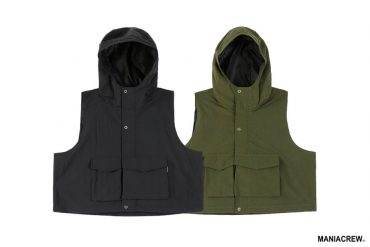 MANIA 21 AW Hooded Vest (0)