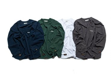 PERSEVERE 21 AW Basic Washed LS Pocket T-Shirt (17)