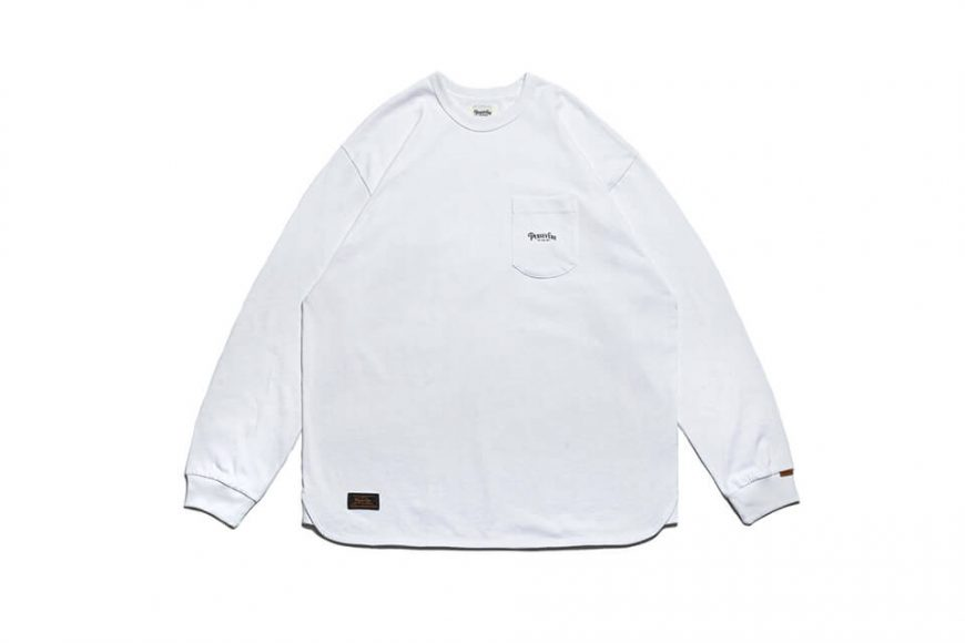 PERSEVERE 21 AW Basic Washed LS Pocket T-Shirt (18)