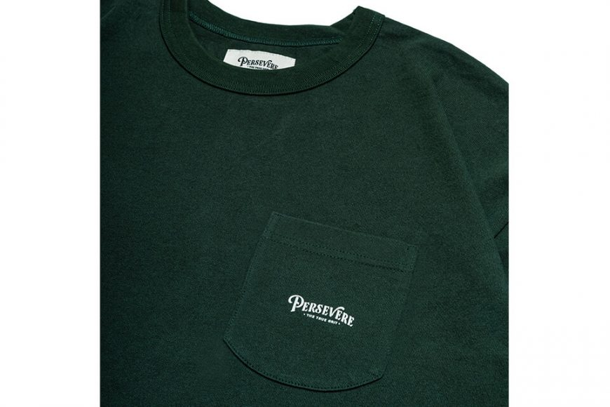 PERSEVERE 21 AW Basic Washed LS Pocket T-Shirt (29)
