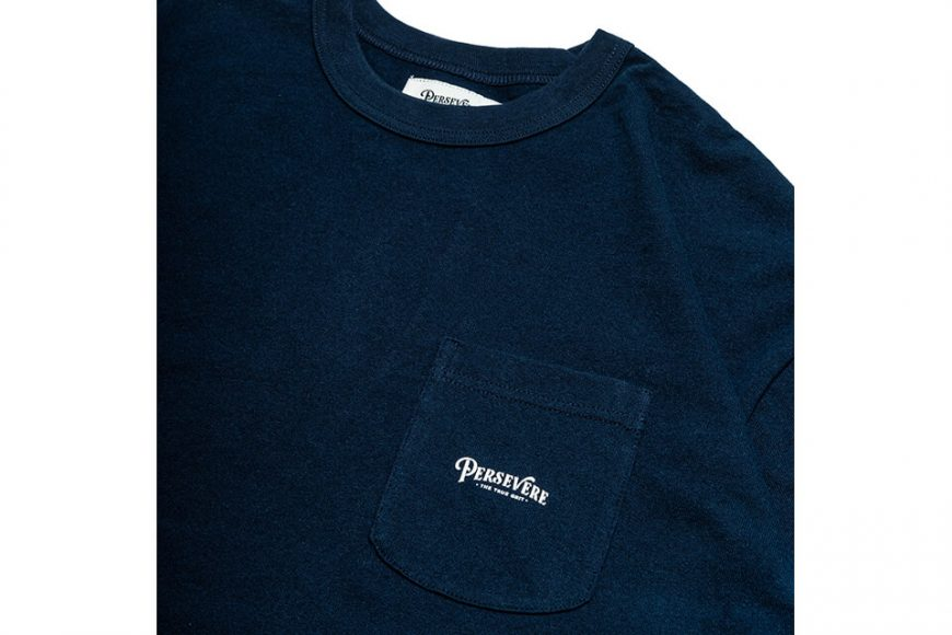PERSEVERE 21 AW Basic Washed LS Pocket T-Shirt (34)