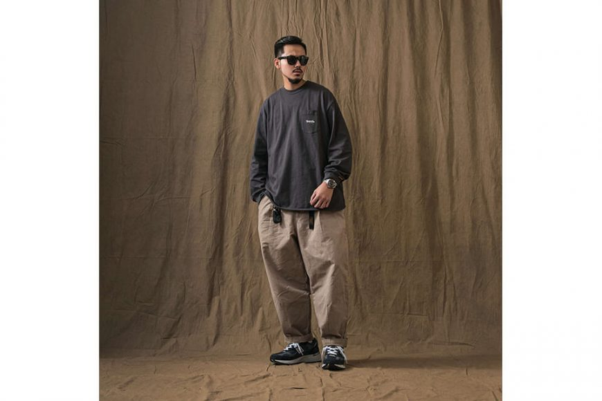 PERSEVERE 21 AW Basic Washed LS Pocket T-Shirt (5)