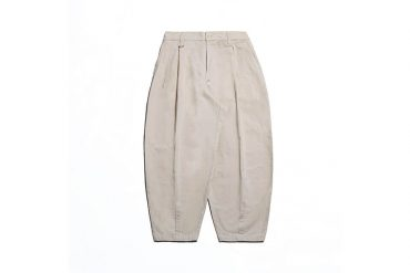 PERSEVERE 21 AW Elasticated Waist Pleated Tapered Pants (7)