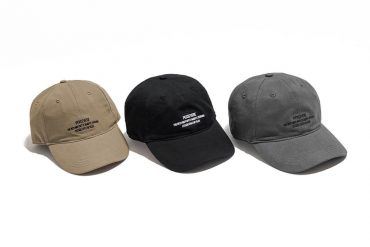 PERSEVERE 21 AW Embroidered Slogan 6 Panel Cap (7)
