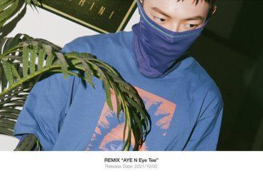 REMIX 21 SS Aye N Eye Tee (1)