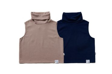 SMG 21 AW Girl High Neck Knitted Vest (0)