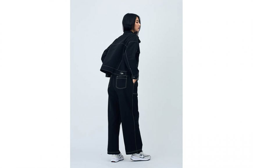 SMG 21 AW Girl Wide Leg Trousers (2)
